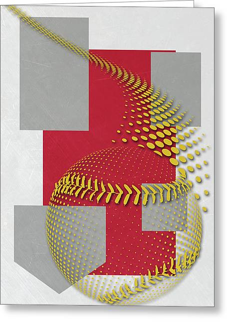 St Louis Cardinals Art Greeting Card by Joe Hamilton