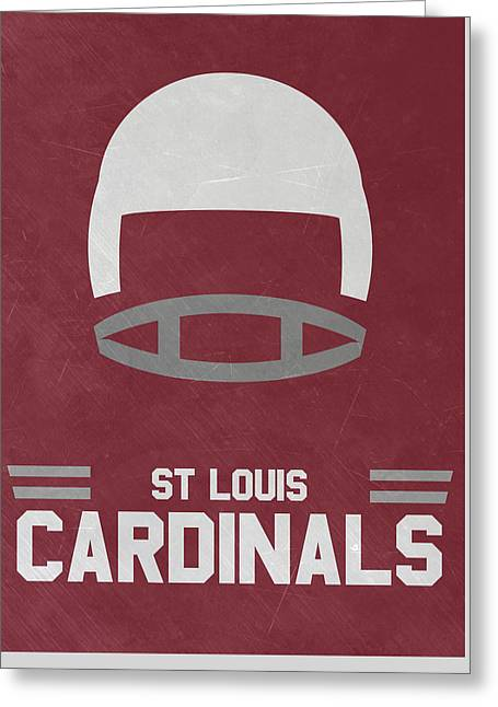 St Louis Cardinals Vintage Art Greeting Card