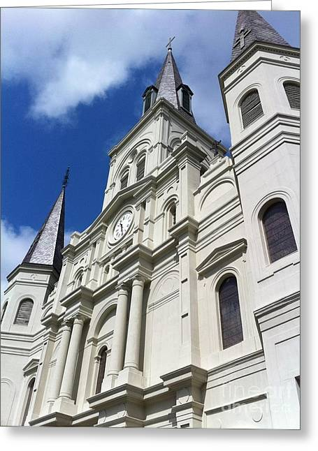 St. Louis Cathedral In The Afternoon Greeting Card by John Giardina