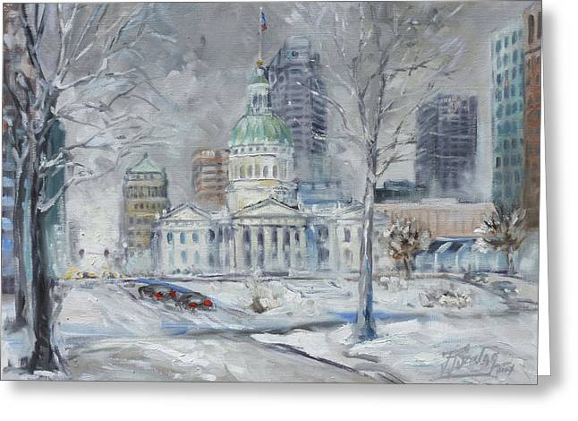 St. Louis Downtown Old Courthouse Greeting Card