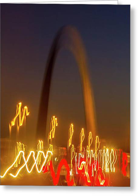 St Louis Heartbeat Greeting Card