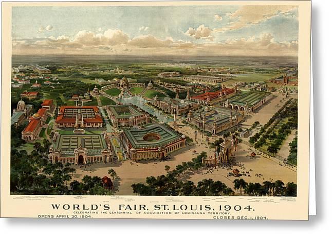 St. Louis Worlds Fair 1904 Greeting Card