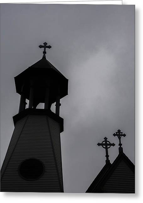Greeting Card featuring the photograph St. Lukes by Guy Whiteley