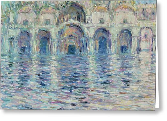 st-Marco square- Venice Greeting Card