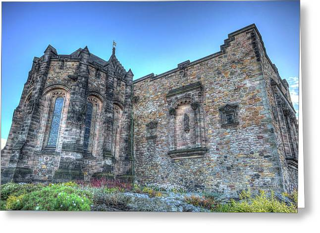 St Margaret's Chapel Edinburgh Greeting Card