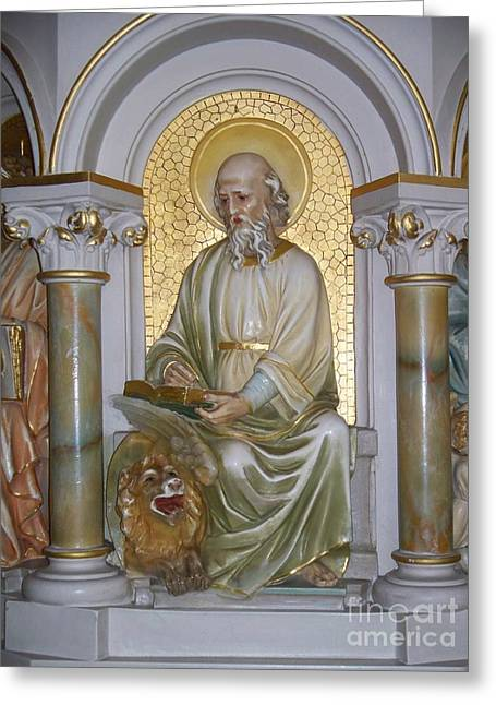 St. Mark Greeting Card by Seaux-N-Seau Soileau