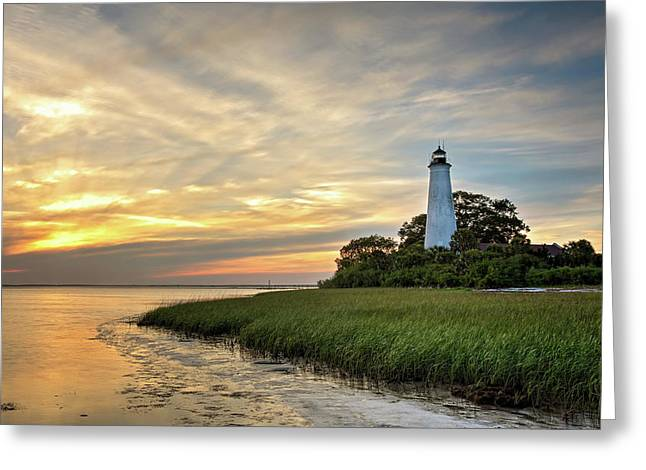 St. Mark's Lighthouse Greeting Card