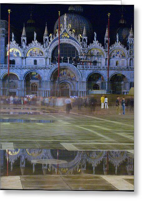 St. Mark's Greeting Card by Michael Henderson