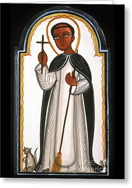 St. Martin Of Porres - Aomap Greeting Card