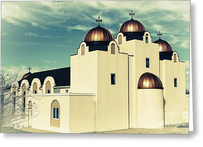 St Mary And St Abraam Coptic Orthodox Church 2 Greeting Card