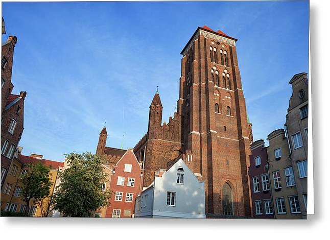 St. Mary Church In Gdansk Greeting Card