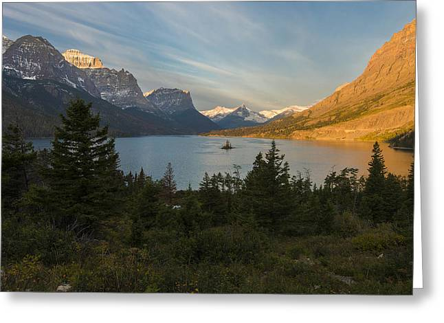 St. Mary Lake Greeting Card