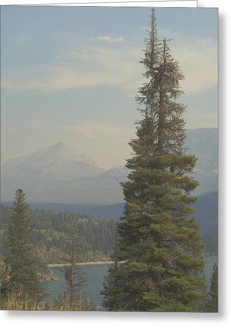 St. Mary Lake, Glacier, Montana Greeting Card by Joseph Thiebes