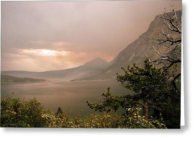 St Mary Lake In The Smoke Greeting Card