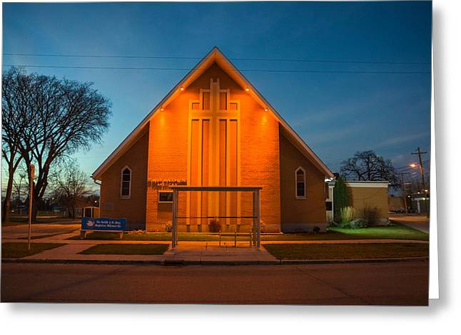 St. Mary Magdalene Anglican Greeting Card by Bryan Scott
