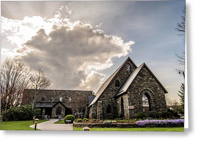 Rumple Memorial Presbyterian Greeting Card by Cynthia Wolfe