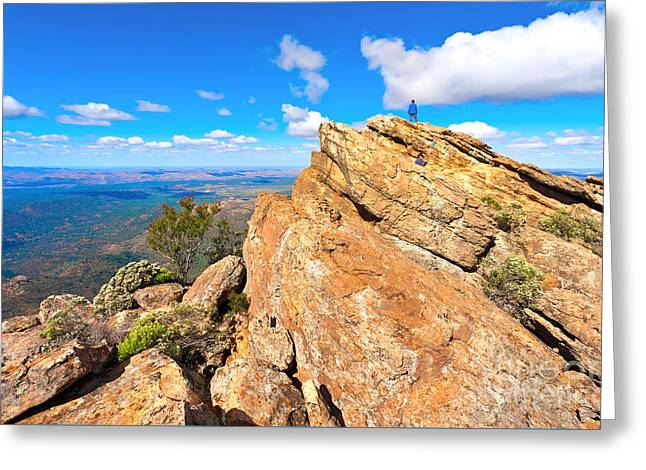 St Mary Peak Greeting Card by Bill  Robinson