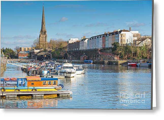 St Mary Redcliffe Church, Bristol Greeting Card