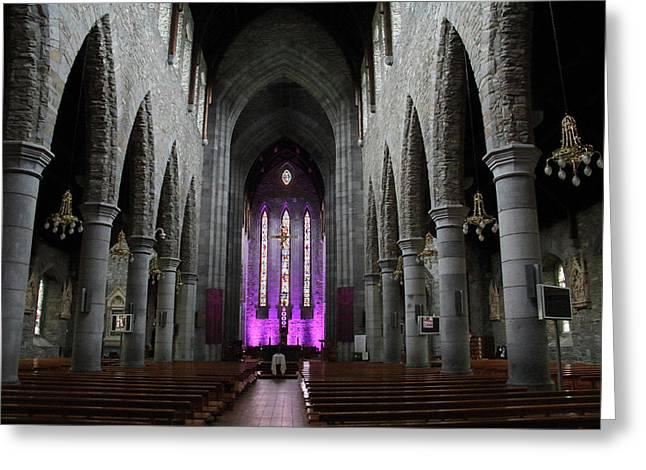 St. Mary's Cathedral, Killarney, Ireland 2 Greeting Card