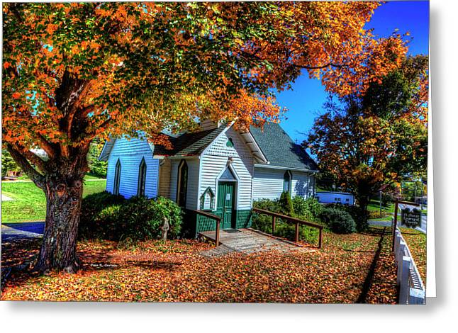 St Mary's Church Greeting Card by Dale R Carlson