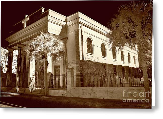 St. Marys, Sc Greeting Card by Skip Willits