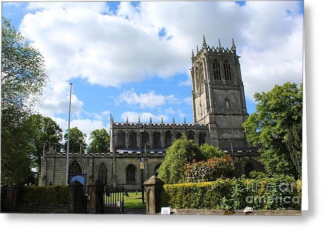 St. Mary's,tickhill Greeting Card