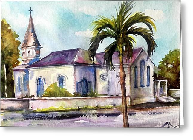 St. Matthews Church, Nassau Greeting Card