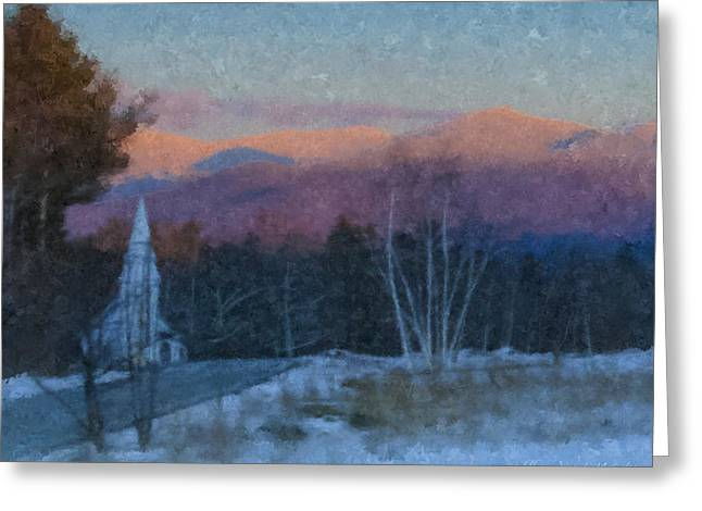 St. Matthews On Sugar Hill Road Greeting Card