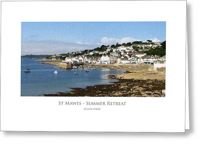 St Mawes - Summer Retreat Greeting Card