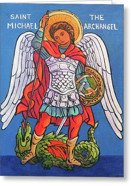 St. Michael The Archangel Greeting Card