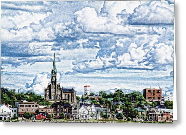 St Michaels Basilica Greeting Card by KJMcGraw