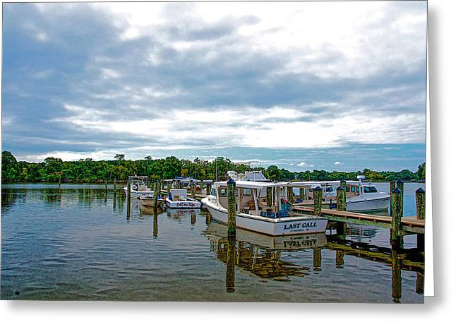 St Michaels Maryland Greeting Card