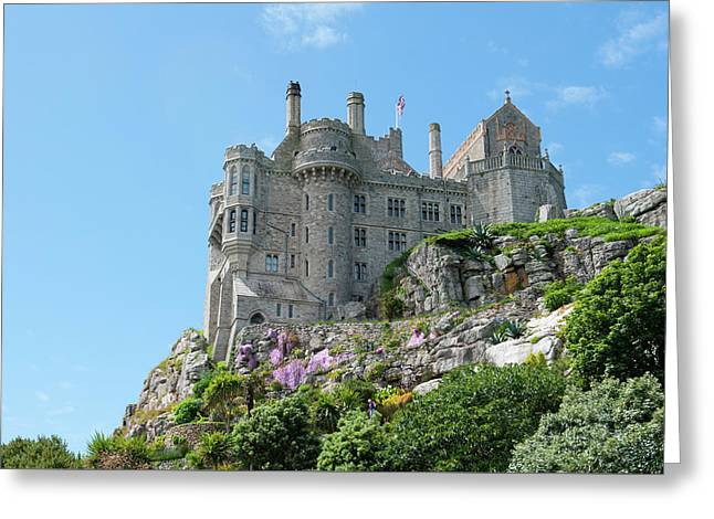 St Michael's Mount Castle Greeting Card