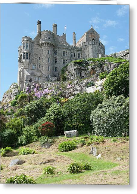 St Michael's Mount Castle II Greeting Card by Helen Northcott