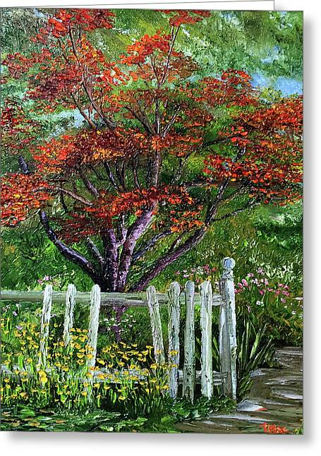 St. Michael's Tree Greeting Card