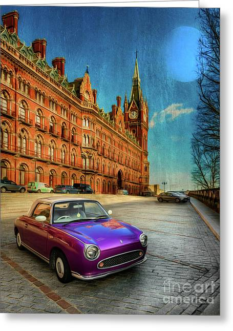 St. Pancras London Greeting Card