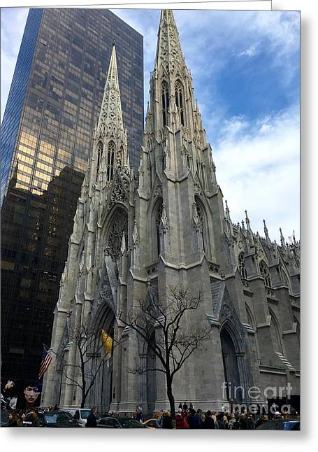 St. Patricks Cathedral Greeting Card
