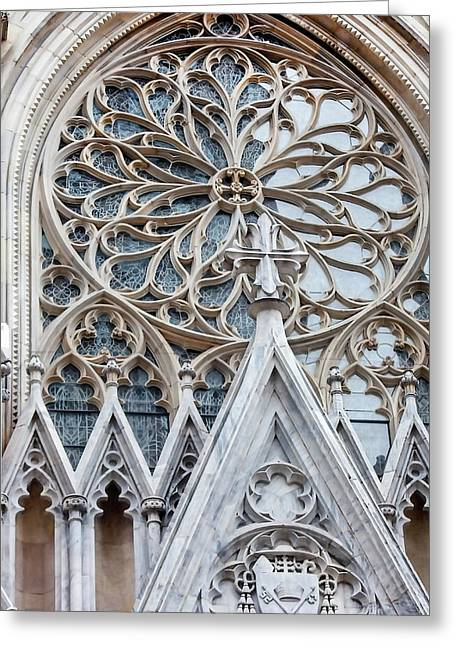 St. Patrick's Cathedral Nyc Greeting Card