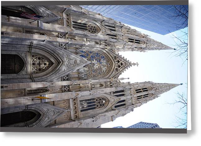 St Patrick's Cathedral Nyc Greeting Card