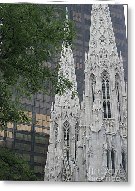 St Patricks Cathedral Greeting Card