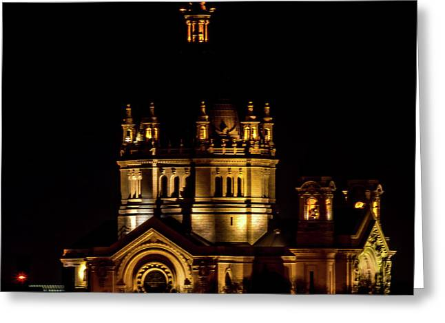 St Paul Cathederal Greeting Card by Nick Peters