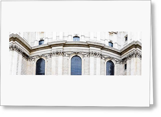 St Paul's Cathedral, London Greeting Card by Chay Bewley