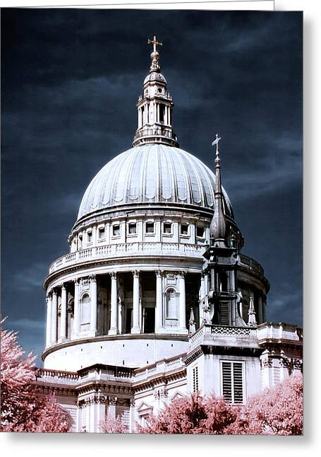 St. Paul's Cathedral's Dome, London Greeting Card