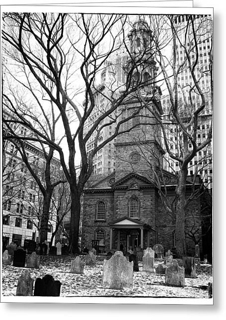 St. Paul's Chapel Greeting Card by Jessica Jenney