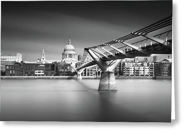 St. Pauls Greeting Card by Ivo Kerssemakers
