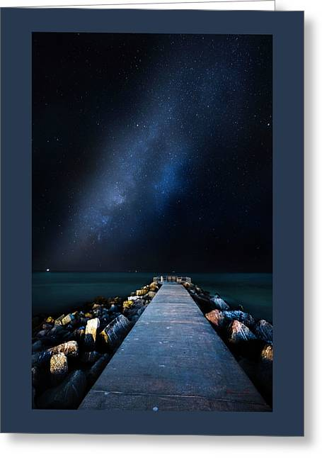 St. Pete Night Greeting Card