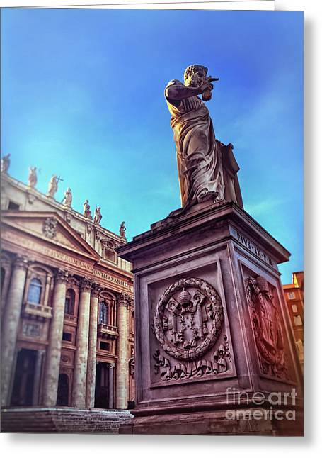 St Peter Greeting Card by HD Connelly