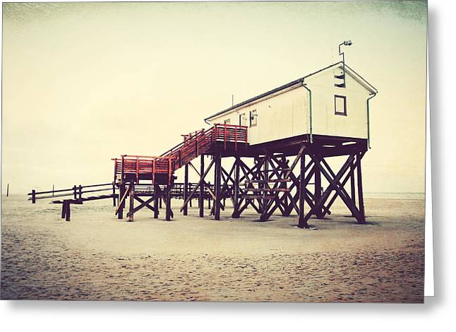St. Peter Ording Greeting Card by Heike Hultsch