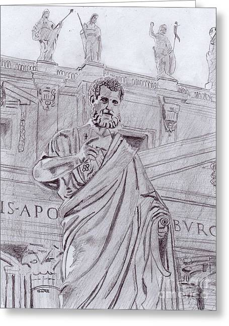 St. Peter Greeting Card