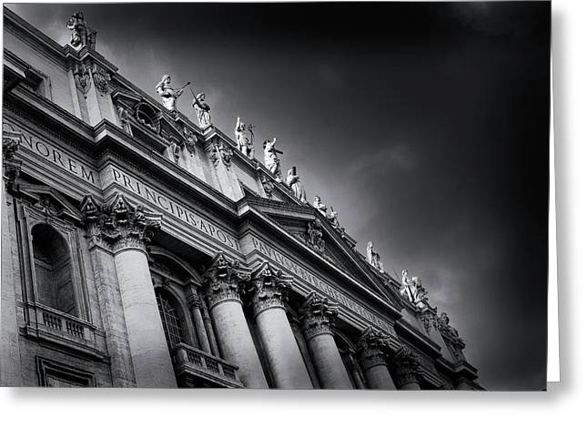 St Peters Basilica, Vatican City Greeting Card
